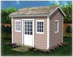 Instant Download Garden Shed Plans - Get started on your new shed today with inexpensive plans from StorageShed-Plans.com