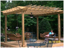 Instant Download, DIY Pergola and Sun Trellis Plans from Pergola-Plans.com