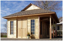 CabanaVillage.com - Design your own Cottage, Cabin, Studio or Bunkie and have plans or a cedar building kit made just for you.