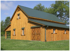 All Sizes and Styles of Barn Plans at BarnsBarnsBarns.com