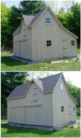 Battenkill Barn - Our little car and tractor barn was converted into ...