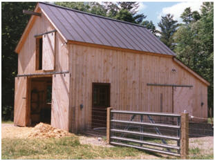 Customers' Small Pole-Barn, Garage and Workshop Plans