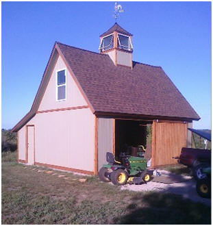 The Candlewood Pole Barn - One of dozens of small barns available as ...