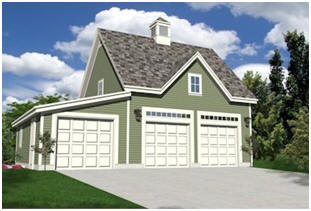 Instant Download Garage Plans - Get started on your new garage or country car barn right now. With one order for just $29.00 you can download construction blueprints for all of the designs that you'll find on this page. You'll have a choice of one, two, three or four-car garages, barn and carriage house style garages, garages with lofts and workshop garages. You'll be able to download any and all of the plans right away and print as many copies as you need to get permits, to get contractors' bids and to build your garage.