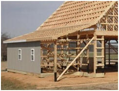 Architect Don Berg's pole barn and pole-frame garage plans offer traditional good looks, inexpensive construction, optional materials and layouts and extra storage in high-and-dry lofts.