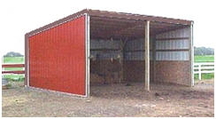 Horse Run-In or Loafing Shed Plans at EasiPlans.com
