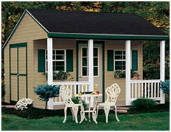 Order a pre-built shed or an easy shed building kit shipped right to your yard by Fifthroom.com. Select from dozens of designs and hundreds of sizes.