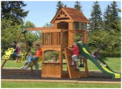 Backyard Playgrounds and Play Sets: Plans, Prefabs and Do ...