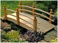 Choose from Dozens of Cedar Garden Bridges at Fifthroom.com