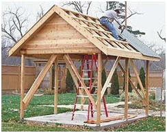 PlansNow.com offers easy-to-follow, DIY plans for sheds, cabanas and playhouses. They are all downloadable and come with illustrated, step-by-step instructions.
