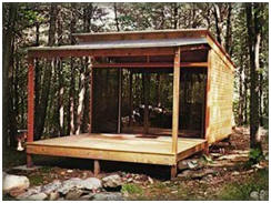 Unit One Cabin Kits from Shelter-Kit.com - Build your own getaway home with a pre-engineered, do-it-yourself building kit.