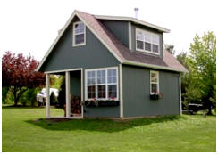 Find Inexpensive Tiny Cottage Plans at BackroadHomes.com