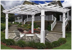 Elegant Pergolas, Gazebos, Arbors and Garden Gates at Wayfair.com