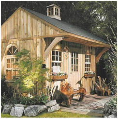 backyard getaways art studios home offices garden reading rooms
