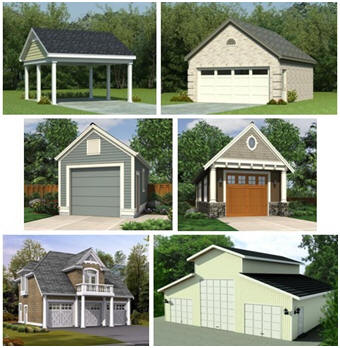 Garage, Carport, Carriage House and Car Barn Plans - Choose from over 250 designs at HousePlans.net