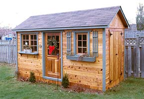 Shed plans and kits from cabana village for Design your own barn online