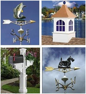 You'll find Weathervanes, Barn and Garage Cupolas, Country Mailboxes and More at TheCountryGentleman.com