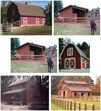 Homestead design building plans for barns country homes for Affordable barns and garages