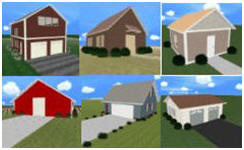 Design your own garage workshop shed or barn with plan3d for Design your own garage online