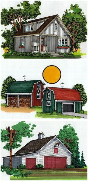 Drafting programs for barns joy studio design gallery for Tractor garage plans