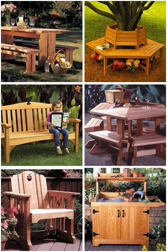 DIY Outdoor Furniture Plans from WoodStore.com