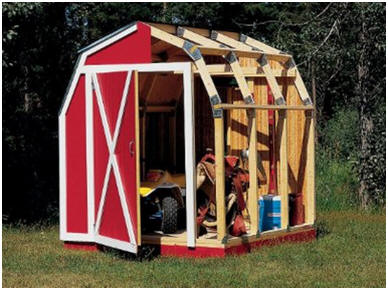 Fast Framer Barn Style Shed Framing Kit at Amazon.com